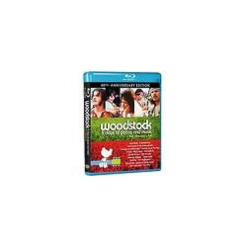 Woodstock: 3 Days of Peace and Music (40th Anniversary Edition) [Blu-ray] DVD Image