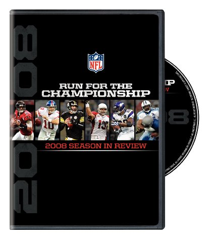 NFL: Run for the Championship - The 2008 Season in Review DVD Image