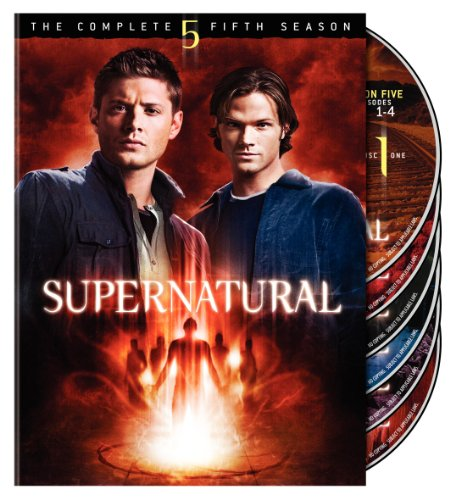 Supernatural: The Complete Fifth Season DVD Image