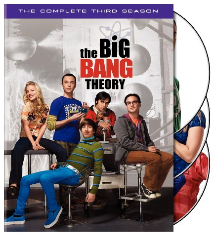 The Big Bang Theory: The Complete Third Season DVD Image