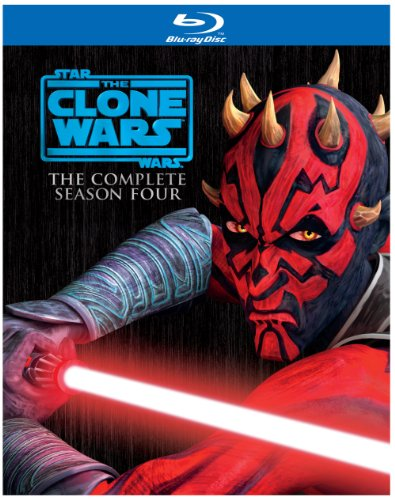 Star Wars: The Clone Wars - Season Four [Blu-ray] DVD Image