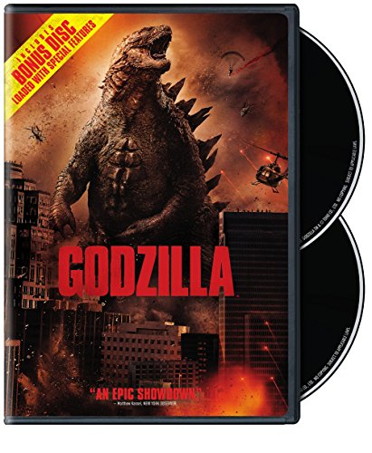Godzilla (2-Disc Special Edition) (DVD+UltraViolet) (2014) DVD Image