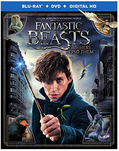 Fantastic Beasts and Where to Find Them (Blu-ray + DVD + Digital HD UltraViolet Combo Pack) DVD Image
