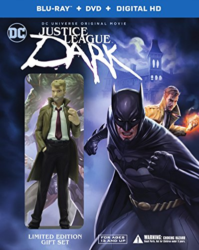 Justice League: Dark (Deluxe Edition) (BD/DVD/UV) [Blu-ray] DVD Image