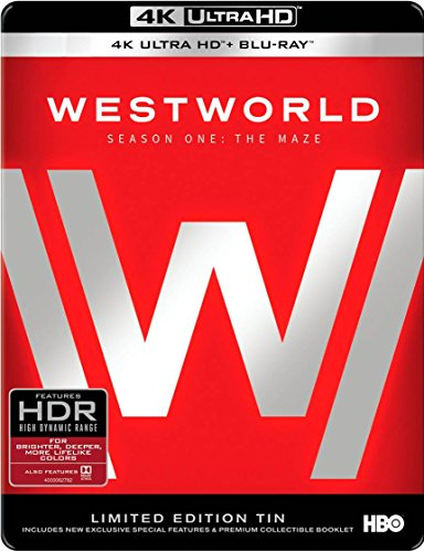 Westworld: The Complete First Season (4K Ultra HD/BD) [Blu-ray] DVD Image