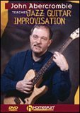John Abercrombie Teaches Jazz Guitar Improvisation DVD Image