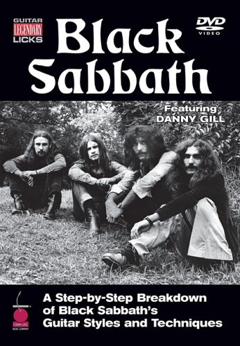 Guitar Legendary Licks: Black Sabbath: A Step-By-Step Breakdown Of Black Sabbath's Guitar Styles And Techniques DVD Image