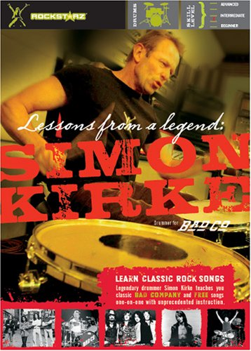 Simon Kirke: Lessons From A Legend DVD Image