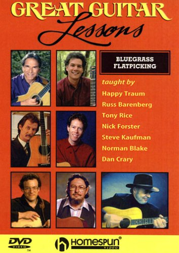 Great Guitar Lessons: Bluegrass Flatpicking DVD Image