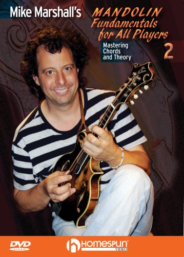Mike Marshall's Mandolin Fundamentals For All Players, Vol. 2: Mastering Chords And Theory DVD Image