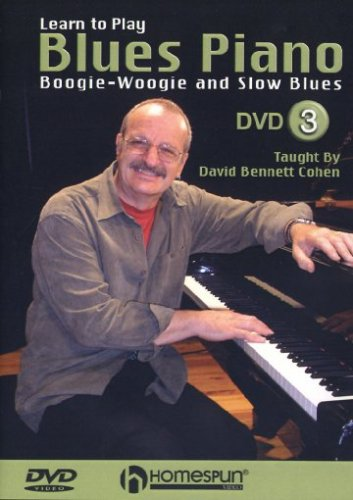 Learn To Play Blues Piano, Vol. 3: Boogie Woogie And Slow Blues DVD Image