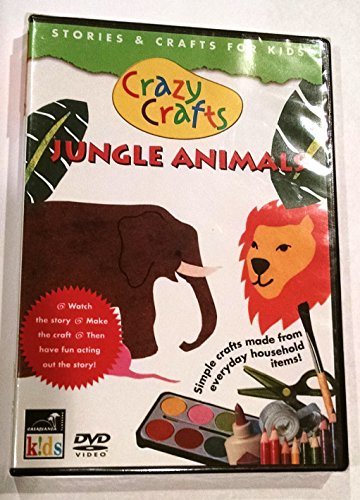 Crazy Crafts: Jungle Animals (Turn Up The Music) DVD Image