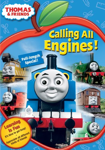 Thomas [The Tank Engine] & Friends: Calling All Engines! (Back To School Edition) DVD Image