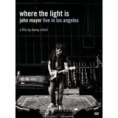 John Mayer: Where The Light Is: John Mayer Live In Los Angeles DVD Image