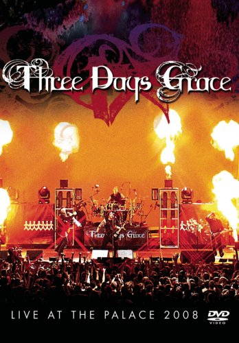 Three Days Grace: Live At The Palace 2008 (Clean Version) DVD Image