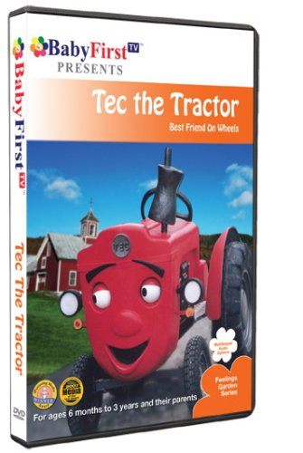 BabyFirstTV Presents: Tec The Tractor DVD Image