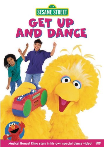Sesame Street: Get Up And Dance (Sony Wonder) DVD Image