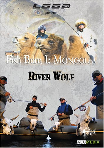Fish Bum I: Mongolia River Wolf DVD Image