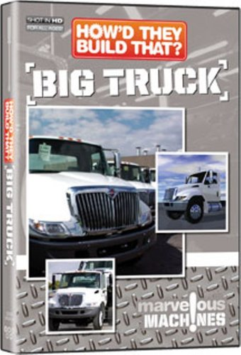 How'd They Build That? Big Truck DVD Image